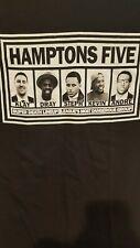 "GOLDEN STATE WARRIORS "" HAMPTONS FIVE "" X-LARGE T-SHIRT NEW ! NICE CLEAN SHARP !"