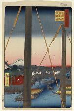 Public Domain Stock Photo 25000+ 2 Dvd Ando Hiroshige 1797–1858 Famous views