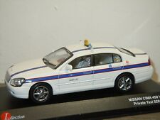 Nissan Cima VIP Private Taxi - J-Collection Kyosho 1:43 in Box *35728