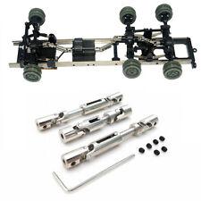For WPL B1 B14 B16 B24 C14 B36 MN Model D90 RC 6WD Car Parts Metal Drive Shaft