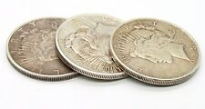 LOTS OF 3 Liberty Peace Silver Dollar Coin. 1922-D,1923,1923-S