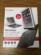 Targus VersaType Hard Shell Keyboard Case for iPad Pro 9.7-Inch/Air 2/Air 1,
