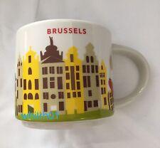 Starbucks Brussels YAH Mug Belgium Grand Place Waffles Fries Chocolate Coffee
