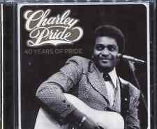 CHARLEY PRIDE - 40 YEARS OF PRIDE - 2 CD's
