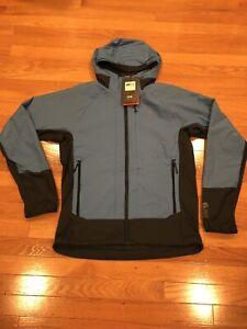 NWT Mountain Hardwear Mens Kor Cirrus Hybrid Softshell Primaloft Jacket SZ S