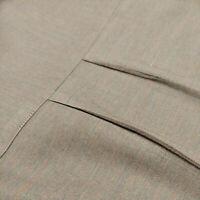 Ermenegildo Zegna Men's Green Cotton Blend L Hidden Button Down Shirt