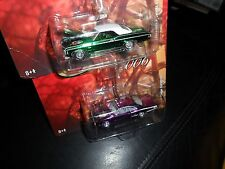 2 LOT JOHNNY LIGHTNING HOLIDAY CLASSIC ORNAMENTS 1969 CHEVY IMPALA & SUPER BEE