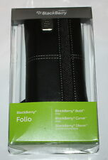 100%GENUINE BLACKBERY FOLIO LEATHER CASE FOR 9700, 8900, 9500/9520/9530/9550-NEW