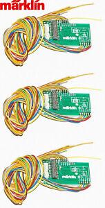 Märklin H0 260034-S 21MTC-Leiterplatte für Decoder mLD3 + mSD3 (3 Stück) - NEU