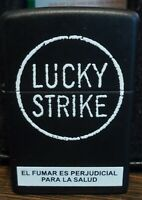 rare and imited  Zippo Lucky Strike 2008 mint never used  from argentina