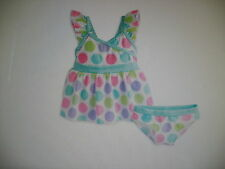 American Girl Bitty Baby Darling Dots Tankini for Little Girls Size 3 Dkg64 Nwts