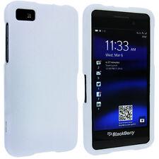 White Snap-On Hard Case Cover for Blackberry Z10