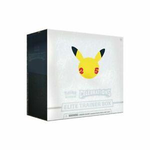 Pokemon Celebrations Elite Trainer Box 25th Anniversary englisch Versandbereit