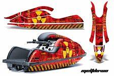 Jet Ski Gráficos Kit Pwc Pegatina Wrap For Kawasaki 800sx-r 2003-2012 Meltdown Y