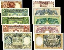 !COPY! ITALIAN SOMALILAND 1,5,10,20,100 SOMALI 1950 BANKNOTES !NOT REAL!