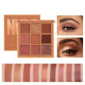 Mode eyeshadow palette 9 Kleuren Matte Oogschaduw palette Glitter oogschaduw