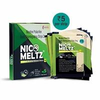Nicomeltz Instamelt Nicotine Release Strips - 2 Mg ( 10X12 Strips ) Mint Flavour