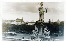 Ältere SW Ansichtskarte von Wien, Ausblick vom Parlament   (049)