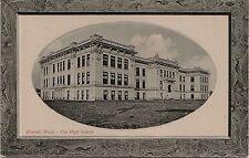 High School in Everett WA Postcard