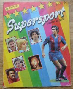 Panini Supersport Album - Complete