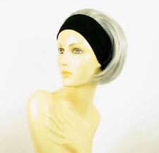 Stirnband Perücke kurze frau grau AMANDA 51