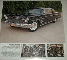 1960 Lincoln Continental Mark V Town car print (black)