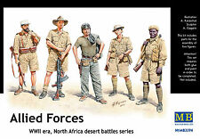 Master Box — Allied forces, North Afrika — Plastic model kit 1:35 Scale #3594