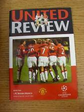 03/04/2001 Manchester United v Bayern Munich [European Cup] . This item is in ve