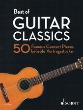 Best of Guitar Classics Sheet Music 50 Famous Concert Pieces New 049045163