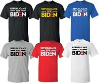 Republicans for Joe Biden President Election 2020 Vote Democrat TShirt 2 S-4XL