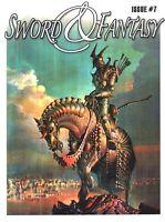 SWORD & FANTASY #7 - Robert E. Howard, H.P. Lovecraft, Weird Tales pulp fanzine