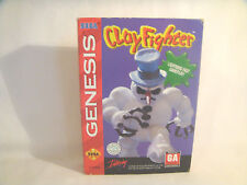 Clay Fighter - Sega Genesis Art Work Sleeve Only!  *original Sega*