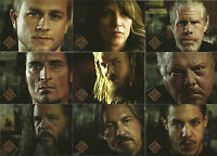 Sons of Anarchy Seasons 4&5 ~MINI-MASTER SET (Base +Gallery & Character Inserts)