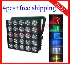 4pcs 25*30W RGB 3 in 1 Led Matrix DJ Disco Stage Light Free Shipping