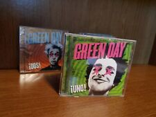 Green Day Lot of 3 CDs: Uno (Used), Dos (New) Tre (New)
