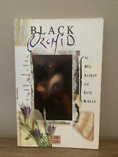 Black Orchid Complete Dc Comic 1 2 3 by Neil Gaiman And Dave McKean Tpb Graphic