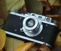 FED 1949 Year Excellent Vintage Camera Rangefinder Film 35mm USSR Leica Copy