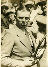 """VARZI vainqueur s/BUGATTI  (A.C.F. 1931)"" Photo originale G. DEVRED (Agce ROL)"
