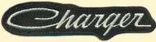 Charger Iron on Patch, Dodge Muscle Car, Embroidered Patch