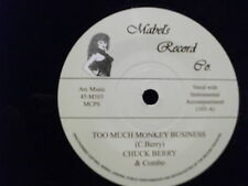 CHUCK BERRY 45 - Too Much Monkey Business  FREE POSTAGE
