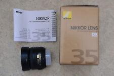 Nikon Nikkor AF-S 2183 35-35mm F/1.8 L DX G Lens for Nikon - Black