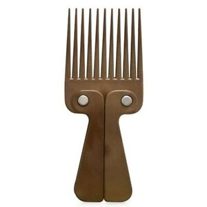 Comby Afro Wooden Folding Comb