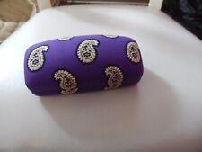 Vera Bradley hard sunglass eyeglass case in retired Simply Violet pattern