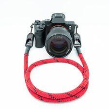 """Trageseil rot/schwarz 120 cm Kameraseil Camera Strap """"peak design"""""""