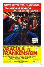 Dracula Vs Frankenstein Movie Poster 24x36