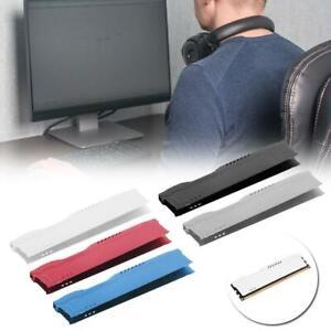 Standard SDR/DDR SDRAM Memory Aluminum Heat Sink Desktop Computer Cooling Vest