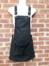 H&M Maternity Dungaree Dress size 8  Eur 36