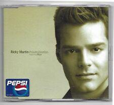 CD RICKY MARTIN private Emotion