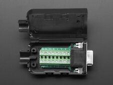 DB-15 Female Socket to Terminal Block Breakout VGA DIY Connector Port DE-15
