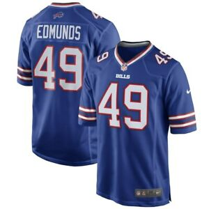 Tremaine Edmunds #49 Linebacker, Buffalo Bills, Football Team Jersey